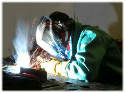 Welder at B&G Mechanical Services